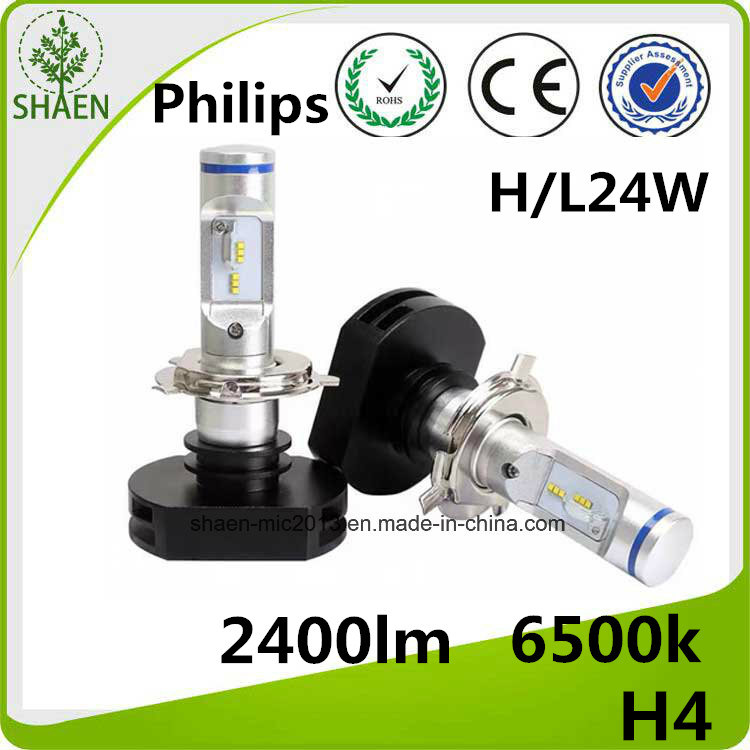 Philips H4 Auto LED Headlight 24W 2400lm