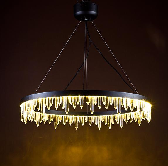 Classic Chandelier with Crystal Pieces
