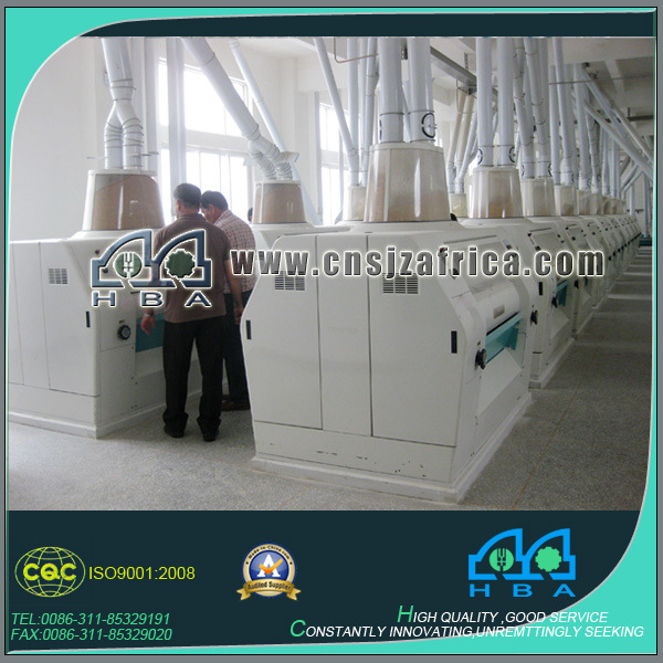 Modern 40-200t/24hr Rice Flour Produce Machine