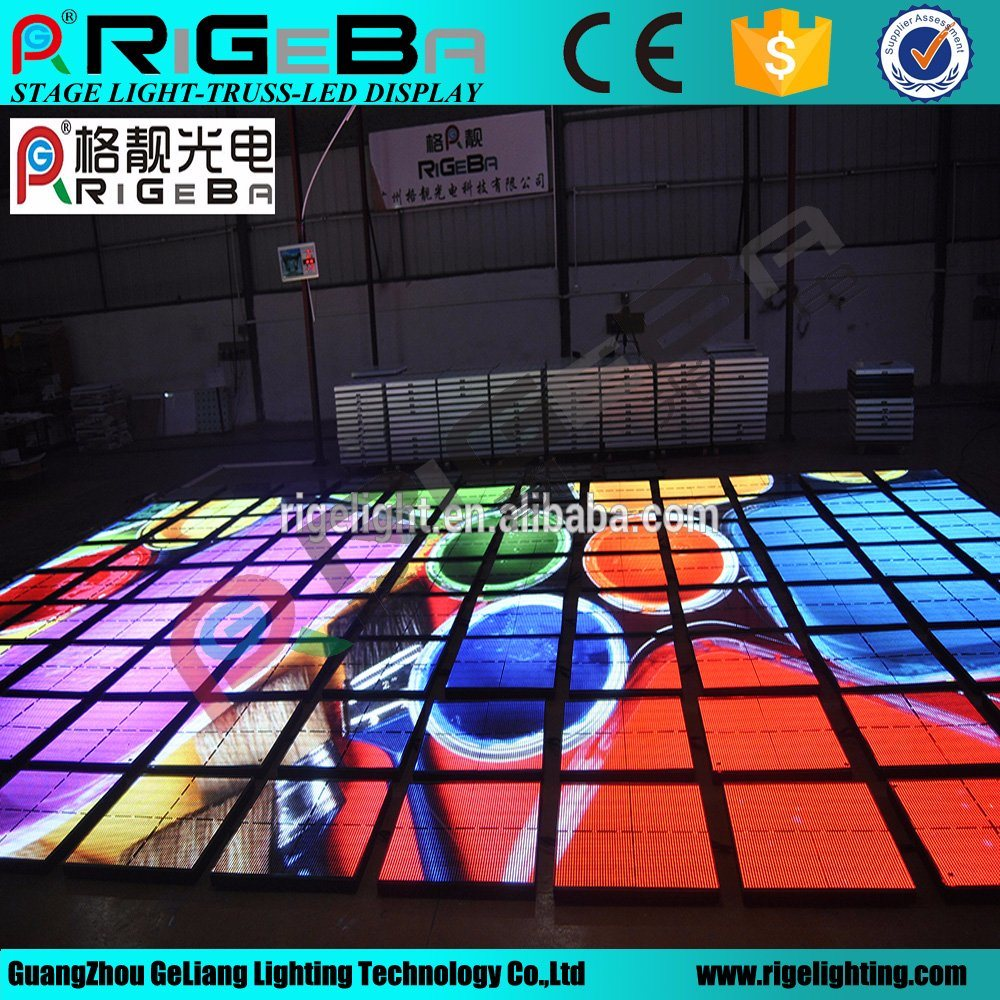 P10 Outdoor LED Stage Video Dance Floor Light