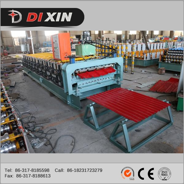 Dixin Trapezoidal and Corrugated Double Layer Roll Forming Machine