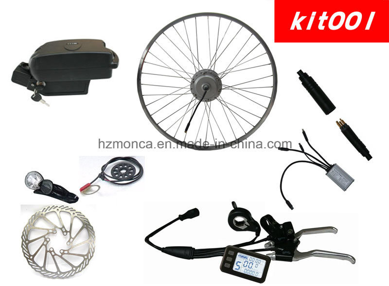 Full Electric Bike Conversion Kits with Frog Case Battery (Kit-001)