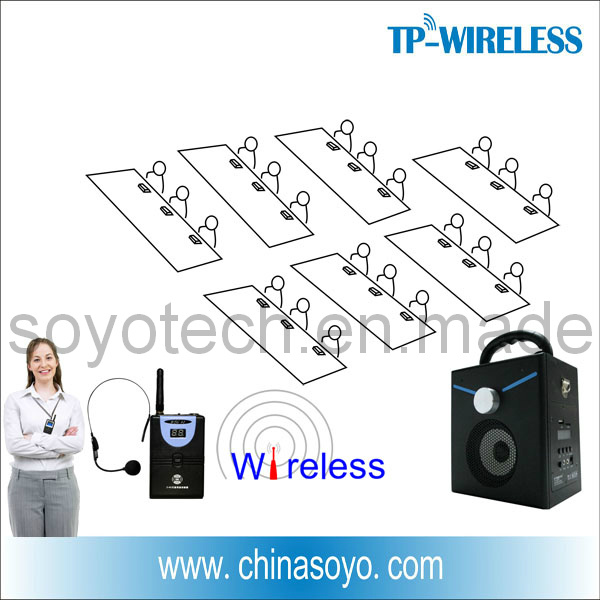 RF Headset Wireless Microphones Solution to Classroom Audio System