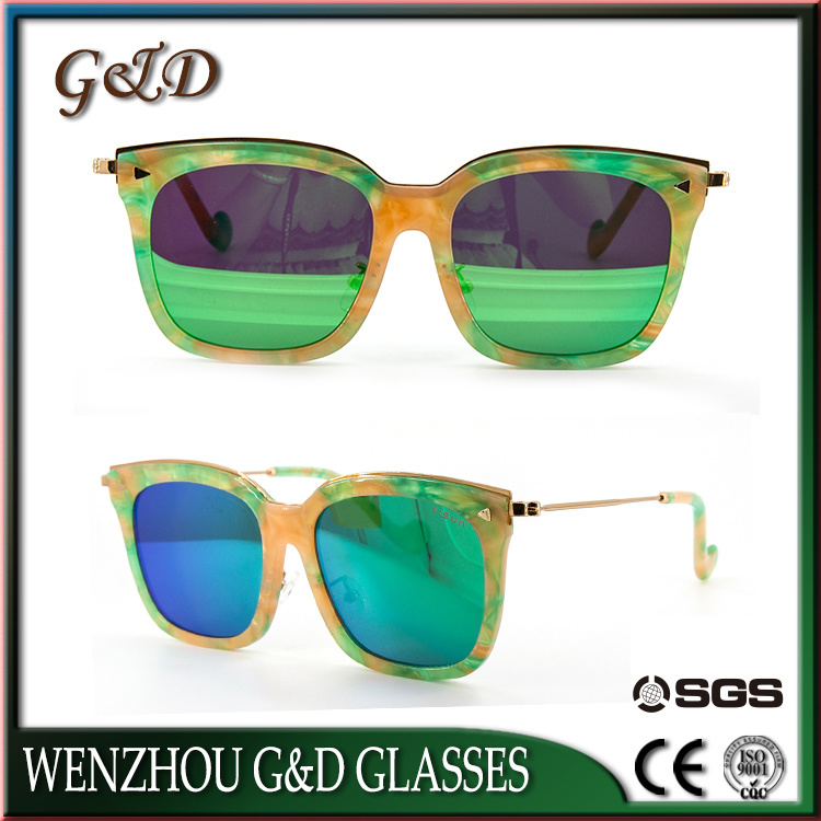 High Quality Colorful Acetate Fashion Sunglasses