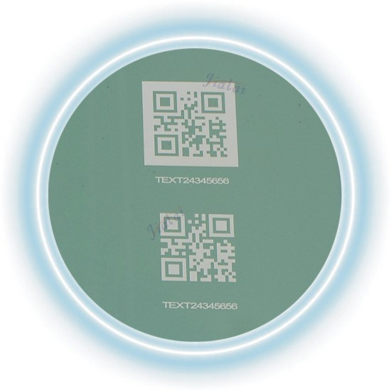 20W Optical Fiber Laser Marking Machine for Metal Plate Printing