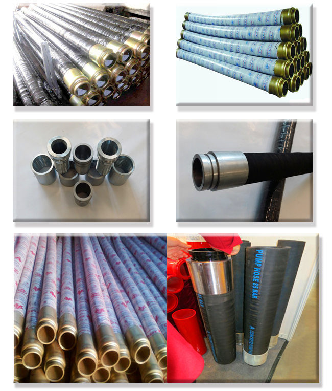 Industrial Application Pressure Concrete Rubber Hose