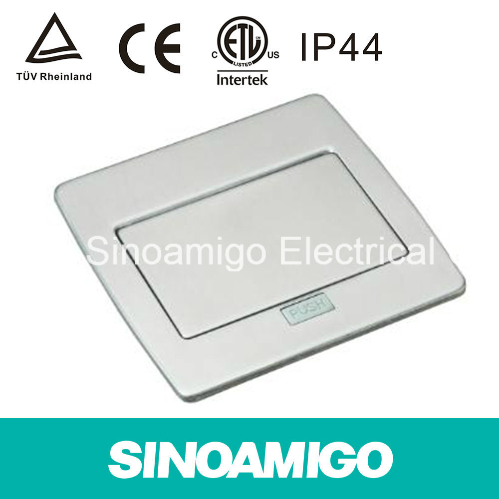 Stainless Steel Floor Socket Ground Universal Socket IP44 CE TUV Cabling System Distribution Boxes (SPU-5S)