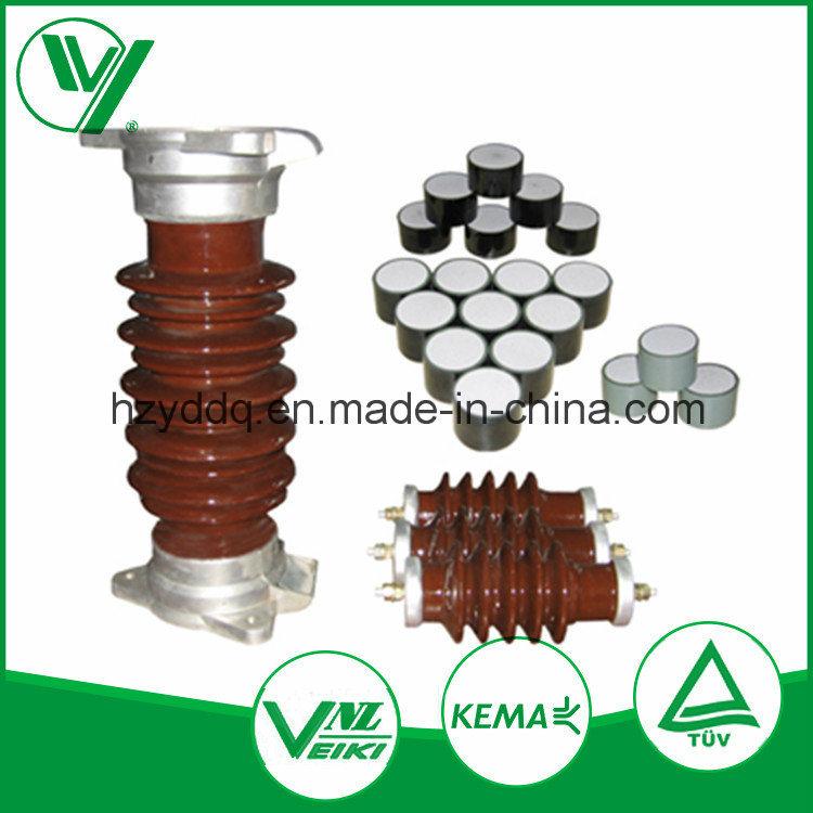 High Voltage Ceramic Zinc Oxide Surge Arrester