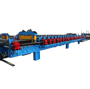 High Speed Track Cutting Roofing Roll Forming Machine