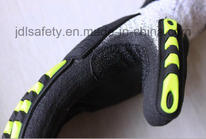 Cut Resistant Work Glove with TPR (TPR9004)