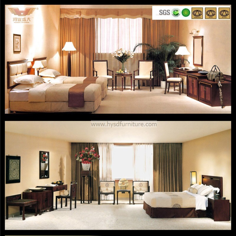 Five Star Hotel Modern Luxury Bedroom Furniture (HY-014)
