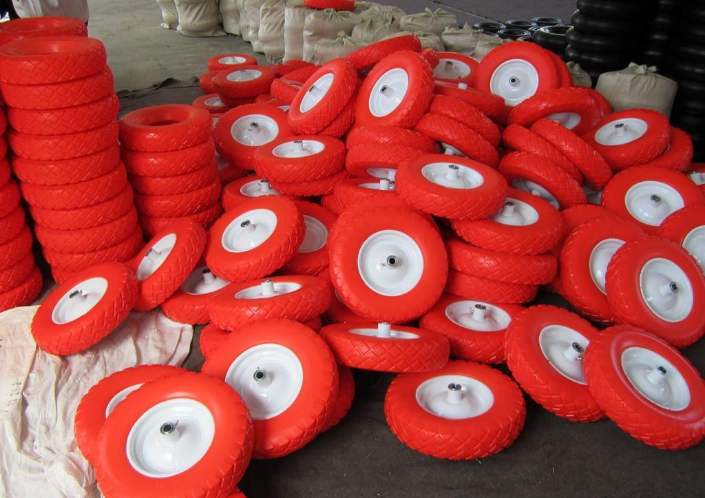 Manufacture High Quality PU Foam Wheel