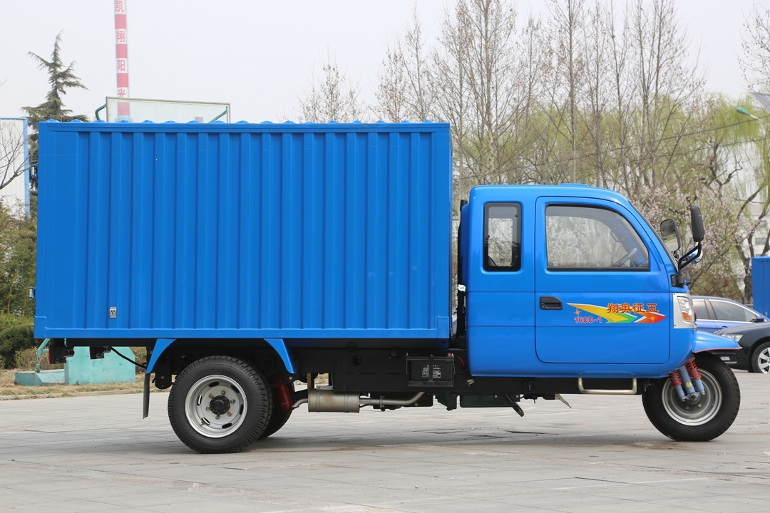 Waw Chinese Diesel Right Hand Drive Van for Sale