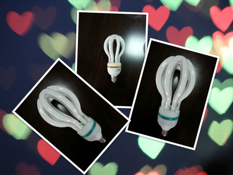 Energy Saving Lamp 105W Lotus Good Quality with Best Price Compact Light Bulb