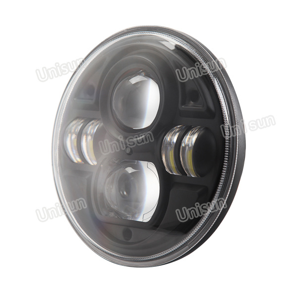 7inch Round 12V/24V 70W Auxiliary LED Truck Light