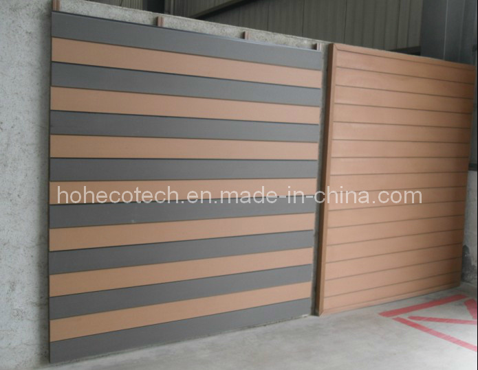 Outdoor Wpc Wall Panel Easy Installation Wood Plastic Composite Wall Cladding Exterior Wall