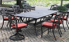 Outdoor Elegant Patio Dining Set Furniture