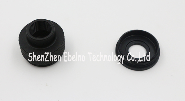 Custom-Made CNC Machining Hard Black Anodizing Aluminum Components