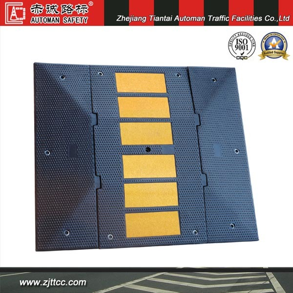 Hot Sale Road Speed Industrial Rubber Hump for Traffic Safety (CC-B08)