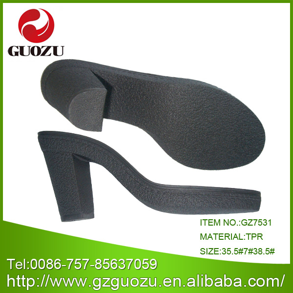 Women TPR Shoes Sole Factory Manufacturer Supplier Wholesaler Distributor-Gz7966
