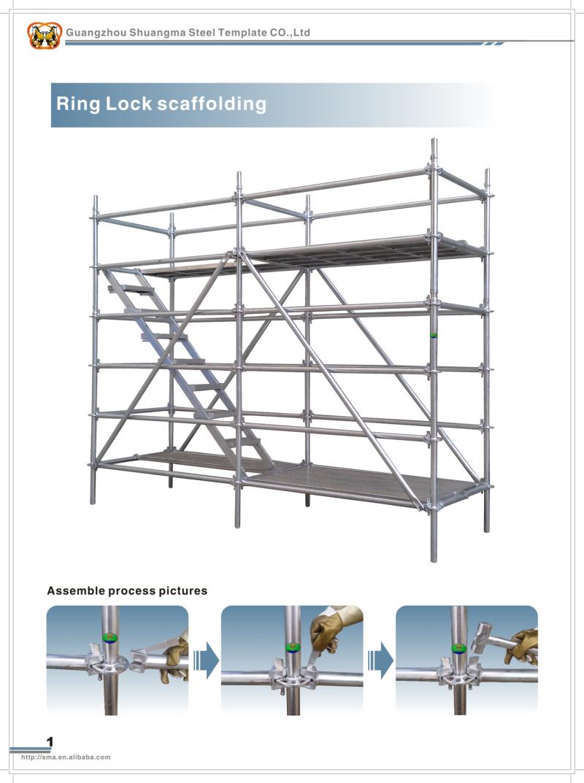 Construction Scaffolding Types : China guangzhou construction scaffolding types of
