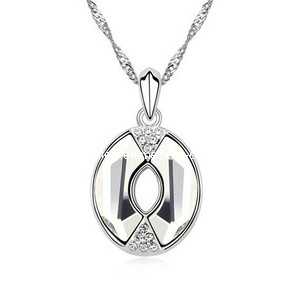 Glory Austrian Diamond Pendant Necklace (XJW12542)