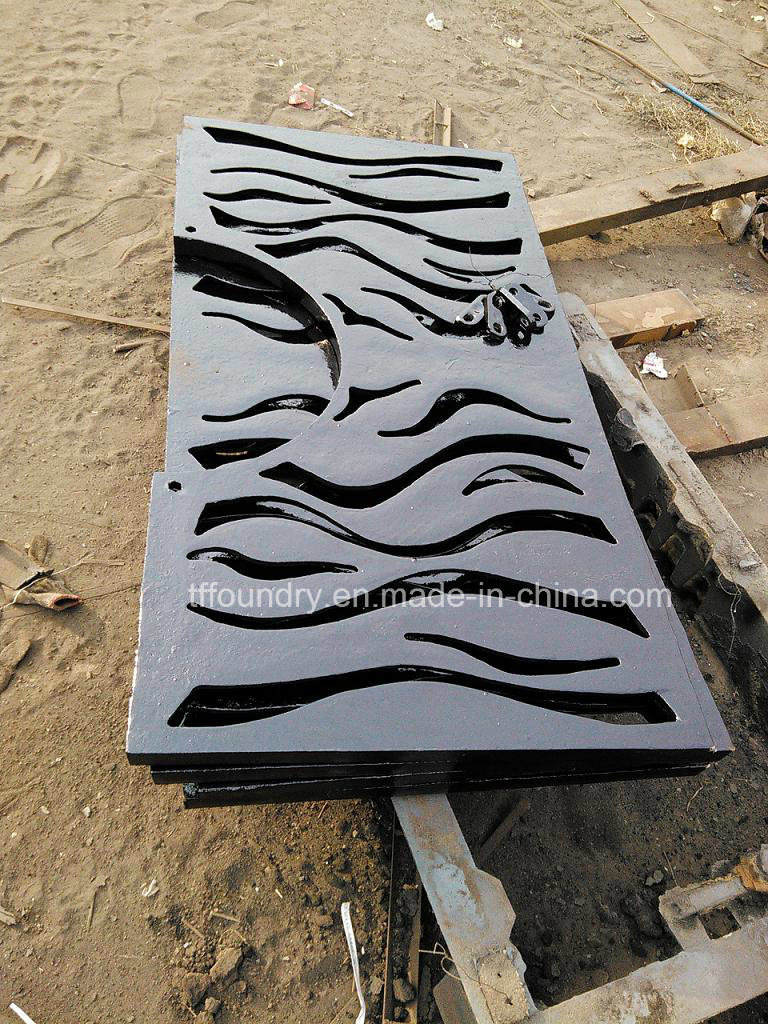 Square Tree Grates with Lock System