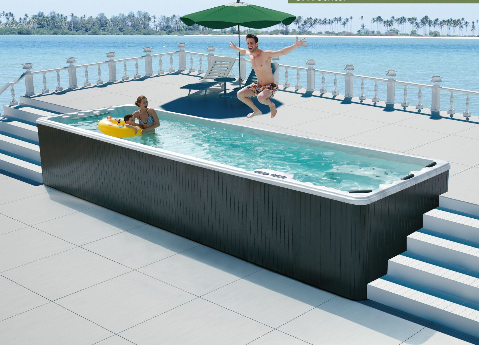 1000 ideas about portable swimming pools on pinterest for Portable pool