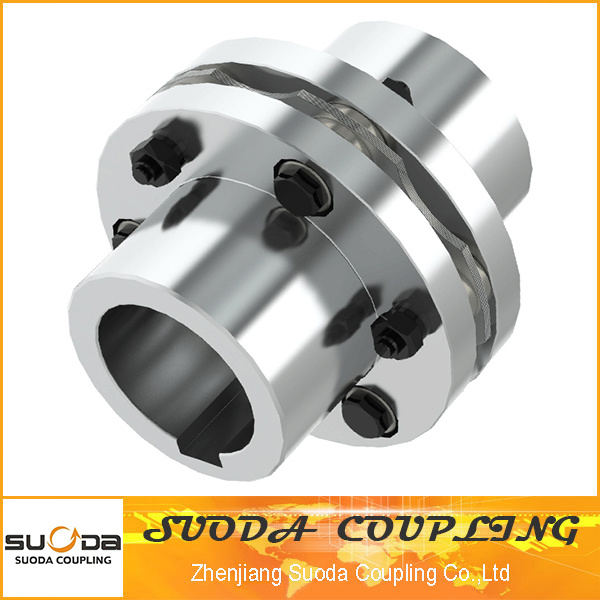 No Need Lubricating Stainless Steel Elastic Components Disc Couping