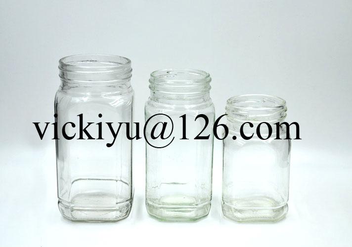Glass Coffee Jars, Glass Honey Jar, Glass Food Jar