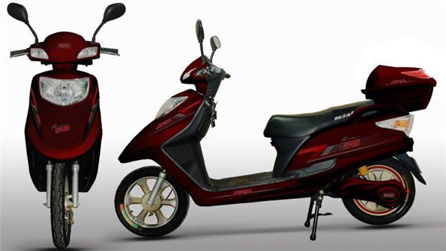 High-End Electric Bike with Battery
