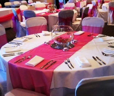 Organza Table Runners Organza Table Runner For