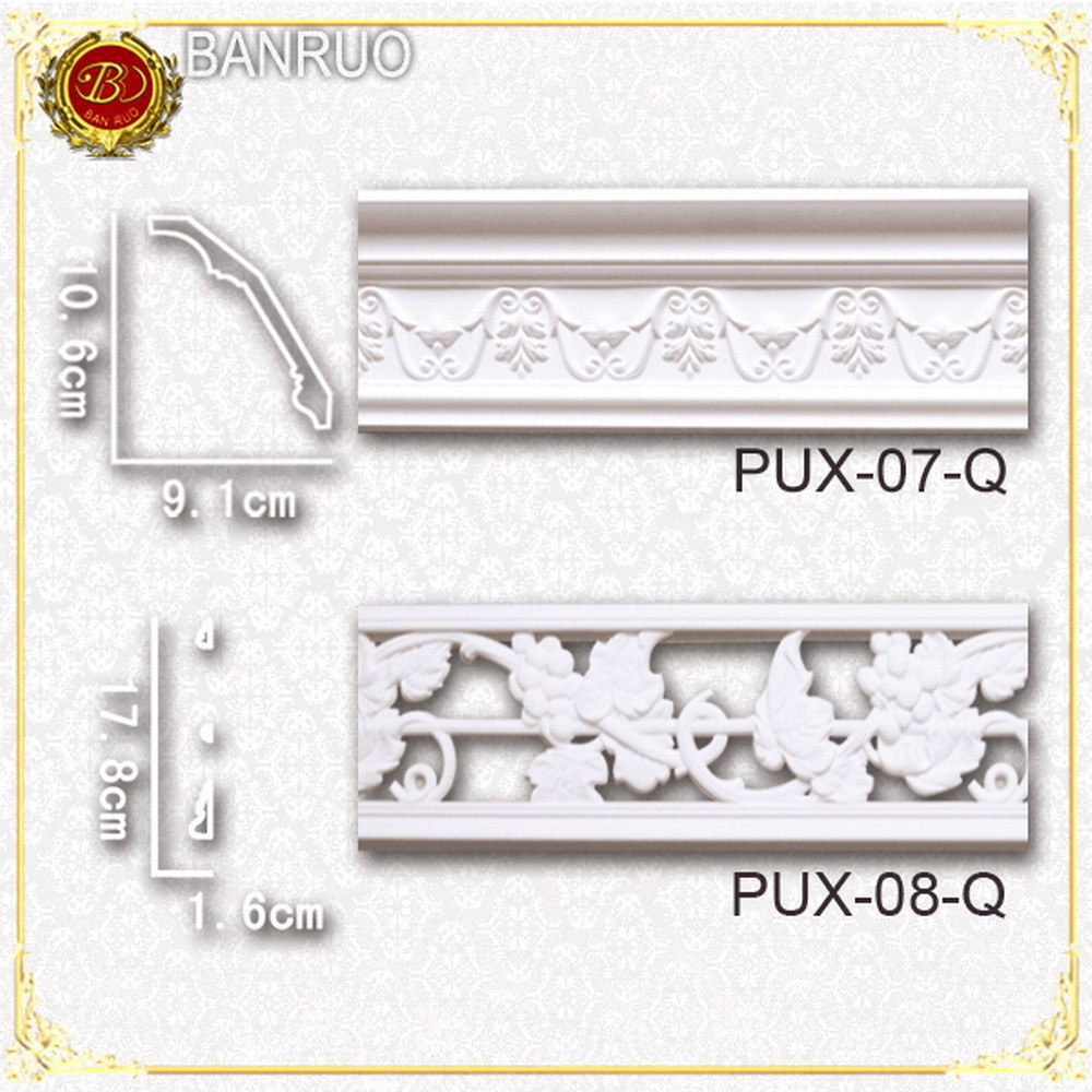 Plastic Cornices (PUX07-Q, PUX08-Q)