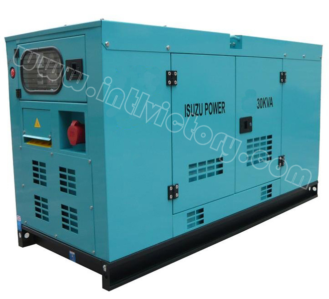 20kVA~56kVA Isuzu Soundproof Diesel Generator Set with CE/Soncap/Ciq Certiifcations