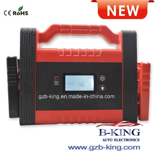 1200A Ultra Capacitor Car Jumpstarter with Backup Battery
