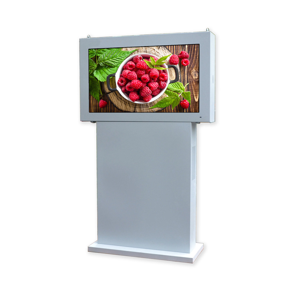 49 Inch Floor Stand Waterproof Outdoor LCD Advertising Kiosk