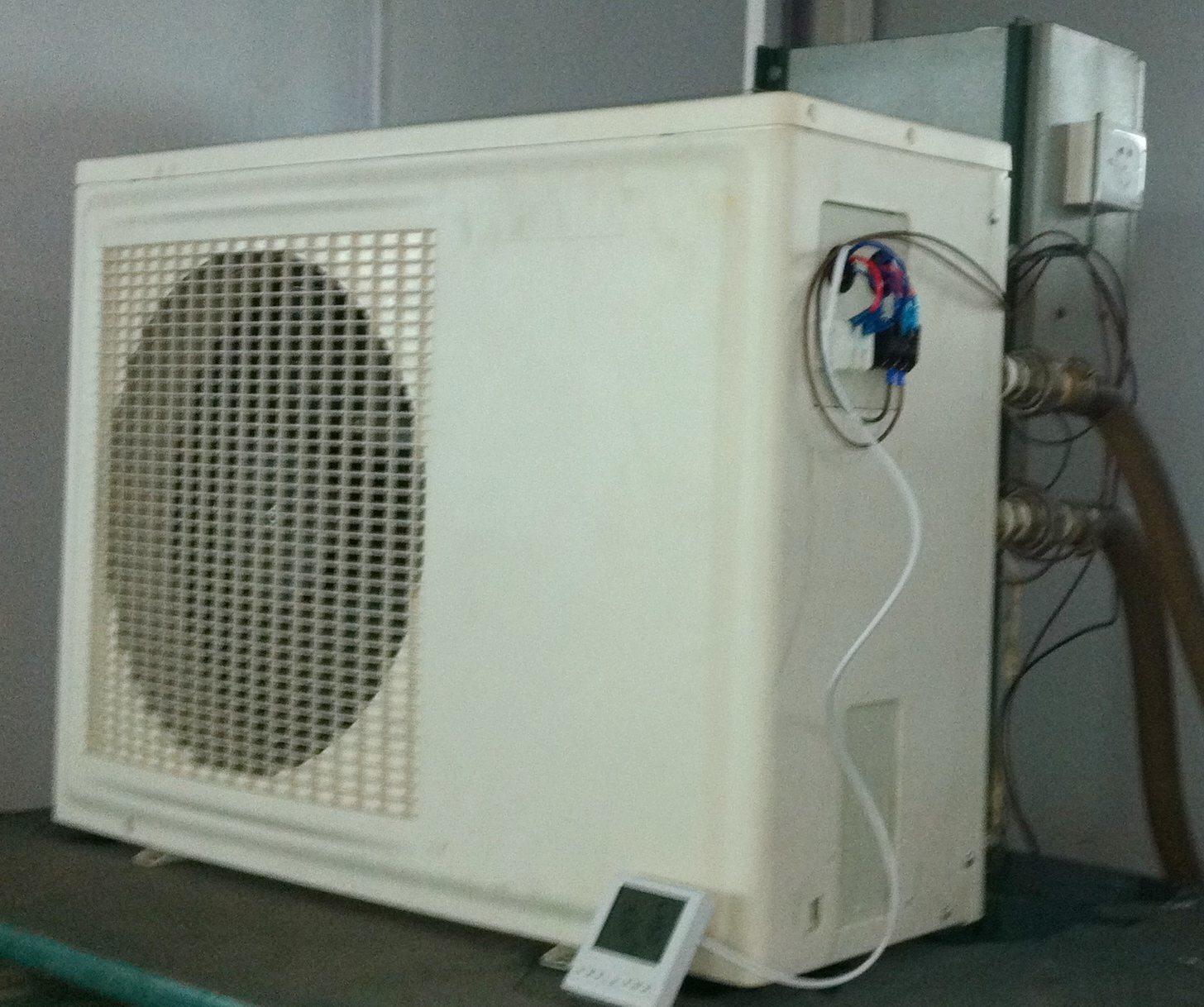 Sistema de calefacci n por aire casero del calentador de - Calefaccion por aire ...