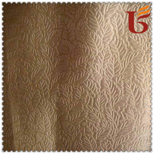 Fire Retardant Blackout Fabric/Jacquard Curtain Fabric/Sunshade Fabric