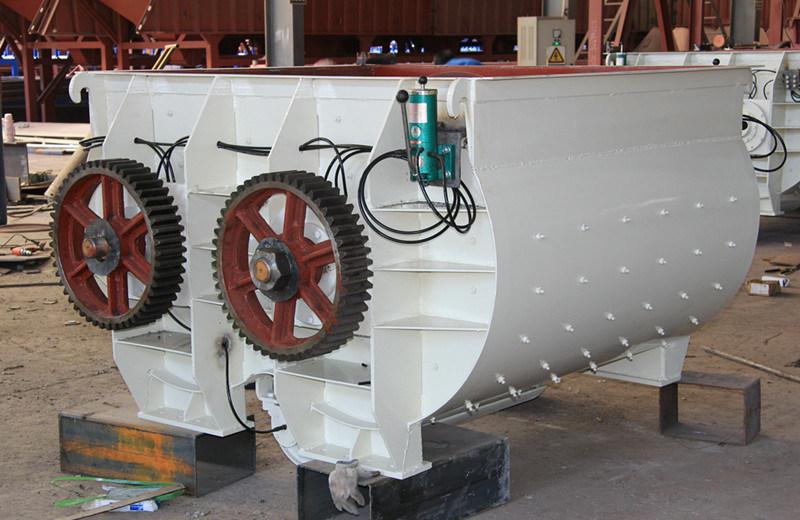 Sicoma Mixer Concrete Mixer High Production Rate Hls60 Concrete Station