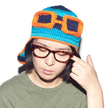 Funny Pilot Handmade Knitting Knitted Winter Hat