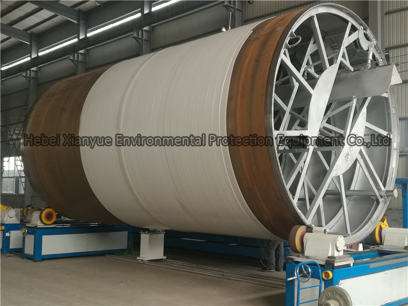 HDPE/PP Spiral Winding Pipe Production Line
