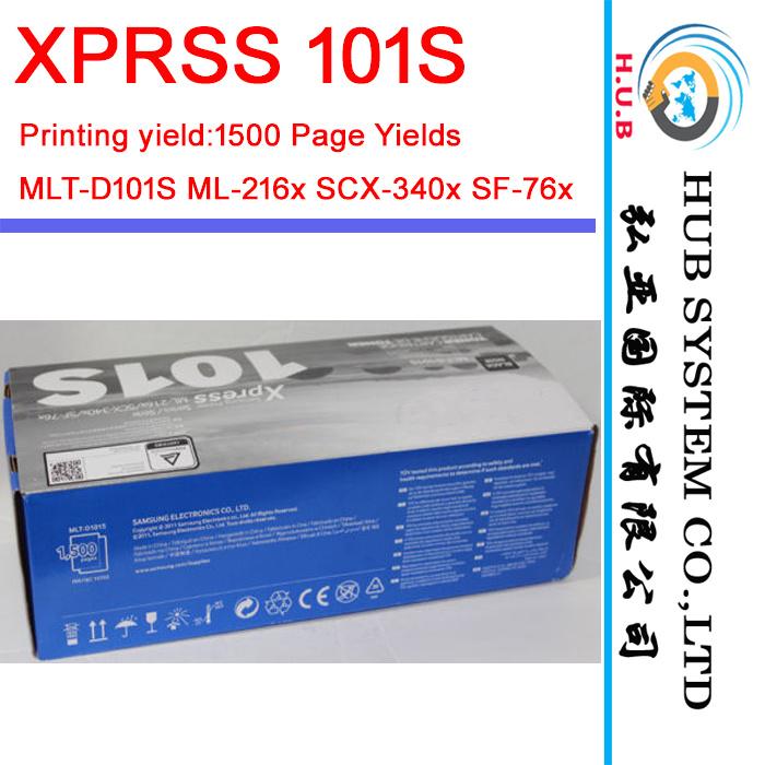 New Toner Cartridge for Samsung Xprss 101s, Mlt-D101s Ml-216X Scx-340X Sf-76X