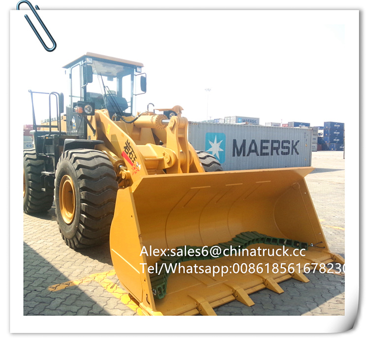 Caterpillar Wheel Loader Sem Zl50f-II Wheel Loader for Hot Sale