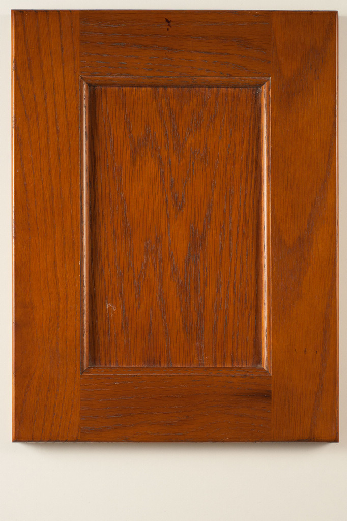 China american red oak solid wood kitchen cabinet doors for Red kitchen cupboard doors