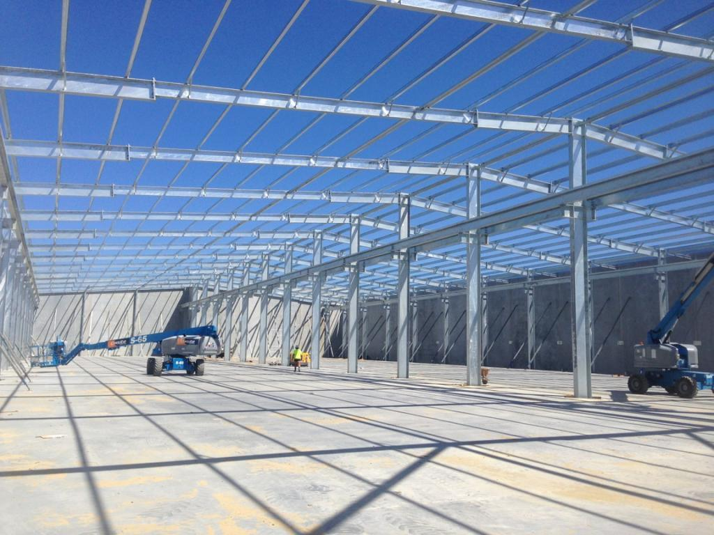 Hot DIP Galvanized Steel Shed for Australia