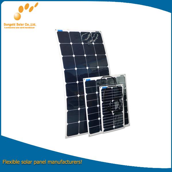 Flexible 100W Solar Panel with Sunpower Cells