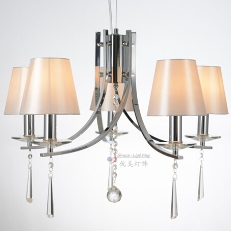 MOQ 1PC Have Stock Modern Crystal Chandelier (GD-183-5)