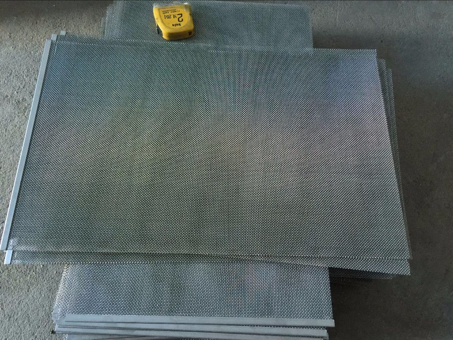 Stainless Steel 304 316L Swimming Pool Wastewater Treatment Filtration Mesh