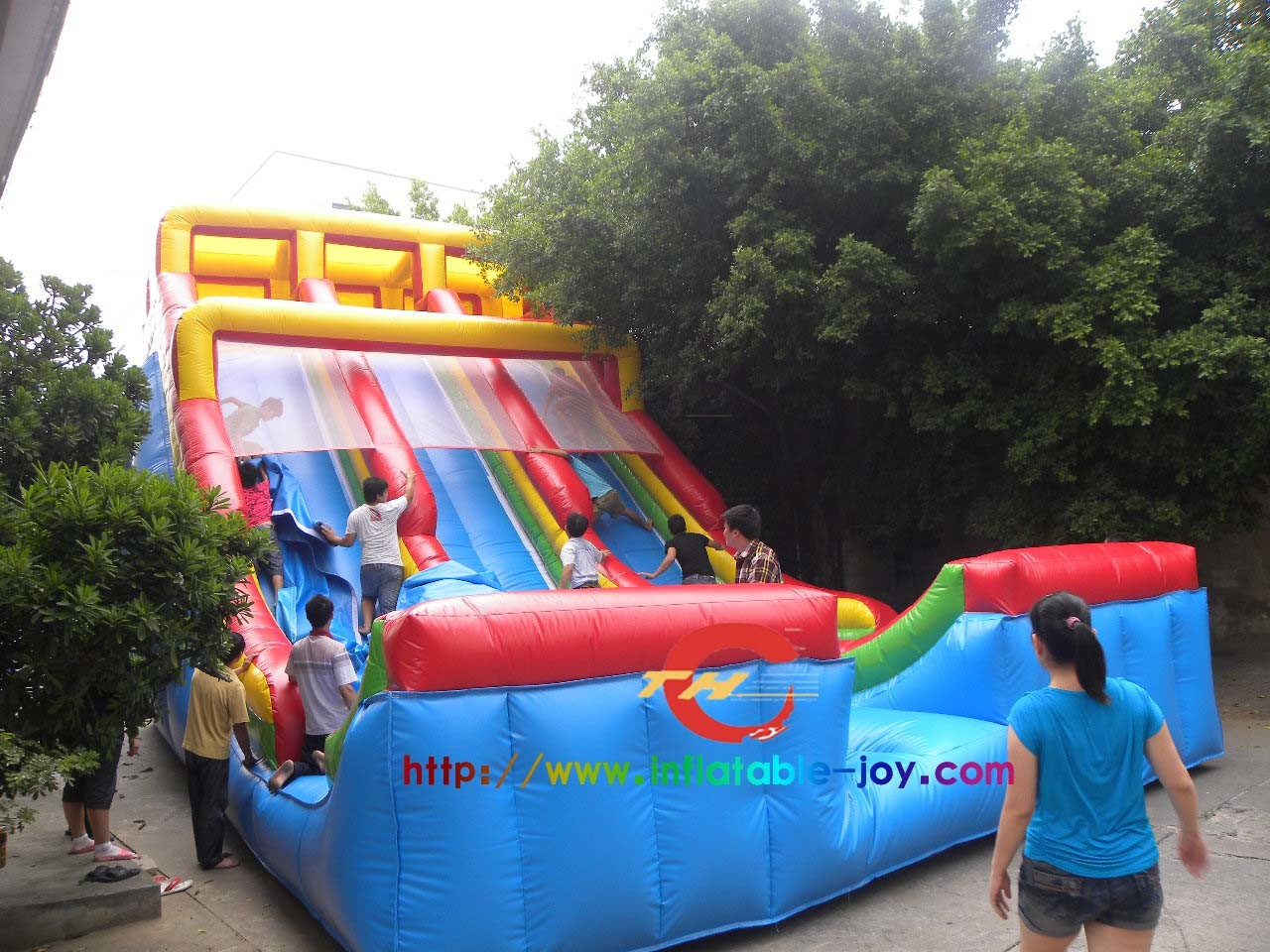 Transparent Bubble Tent China Popular Slide Inflatable Castle Water Park Slide