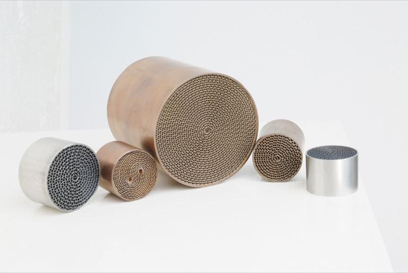 Metal Honeyconmb Catalytic Converter
